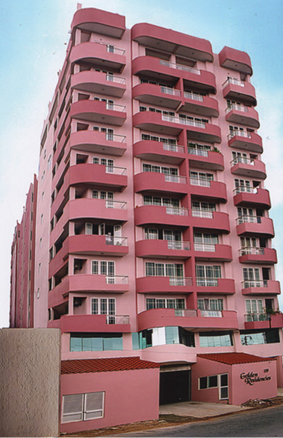 GOLDEN RESIDENCIES APARTMENTS AT NO 41, MAHA VIDYALA MAWATHA, COLOMBO 13.