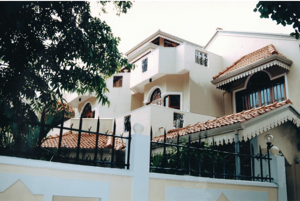 Residential Bungalow at Queens Road, Colombo 3.